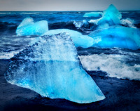 Iceberg on the beach - 2016