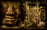 Faces of Bayon Temple - Angkor Wat - Cambodia