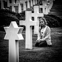 Praying for a Relative - Normandy