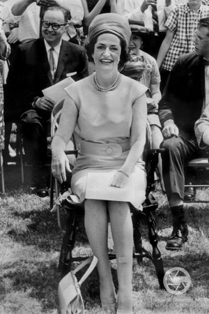 Lady Bird Johnson - VMI - 1964