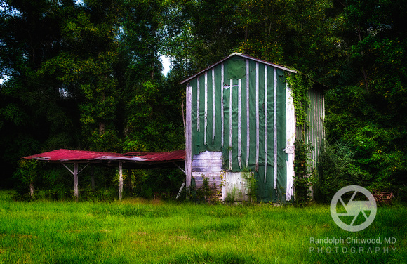 Tobacco  Barn - Pactolus - North Carolina